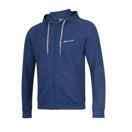 Exercise Hood Jacket - 4005 - Estate Blue Hthr