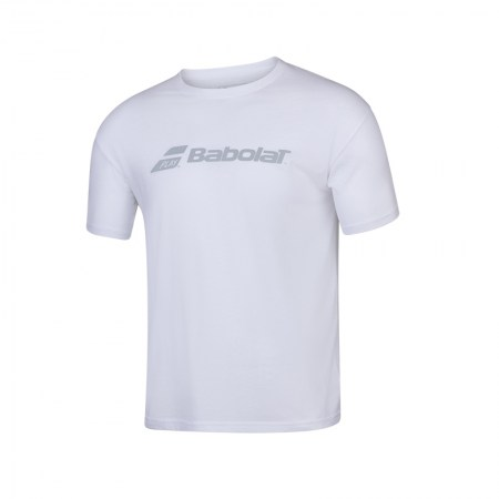 Exercise Babolat Tee - 1000 - White