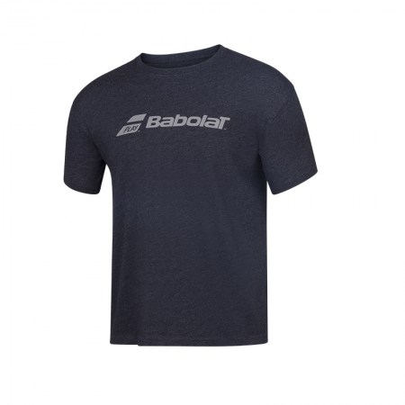 Exercise Babolat Tee - 2003 - Black Hthr