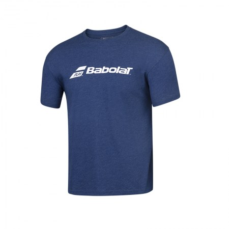 Exercise Babolat Tee - 4005 - Estate Blue Hthr
