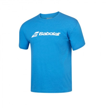 Exercise Babolat Tee - 4052 - Blue Aster Hthr
